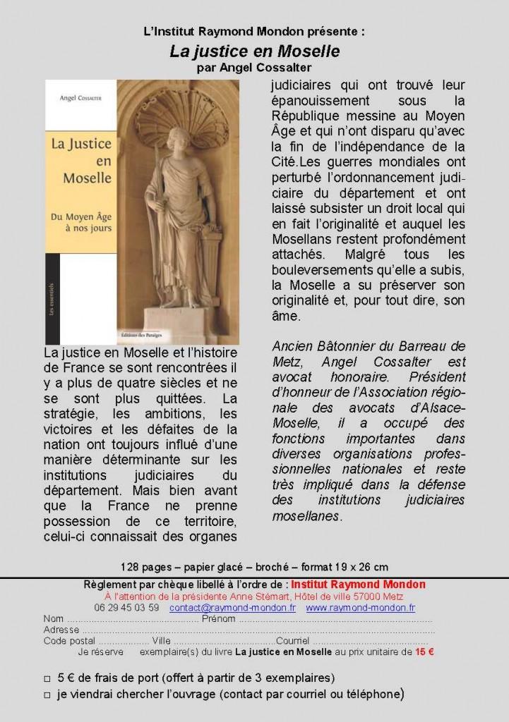Flyer-La Justice en Moselle - IRM