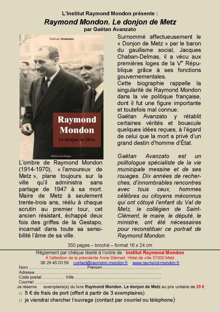 Formulaire-Raymond Mondon - IRM