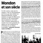 LaSemaine - Mondon et son siècle