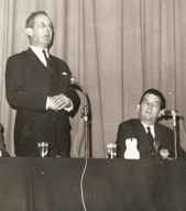 Jean Charbonnel et Raymond Mondon