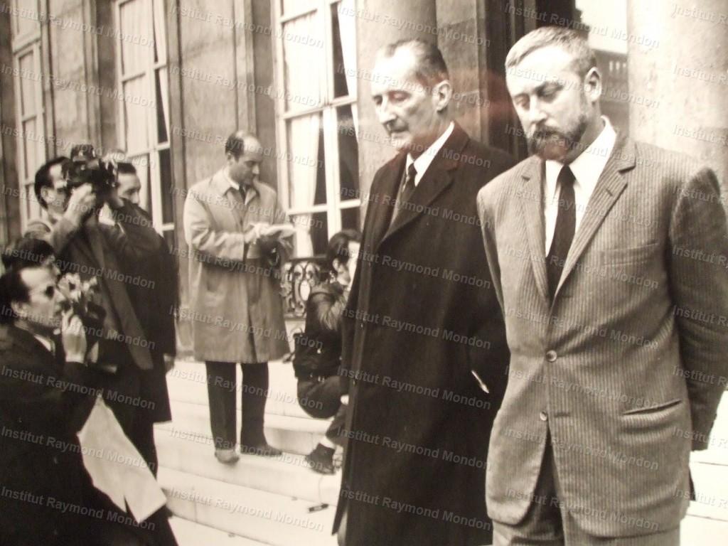 Philippe Dechartre et Raymond Mondon, Paris 1970