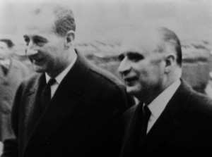 Raymond Mondon, Maire de Metz et Georges Pompidou en 1966